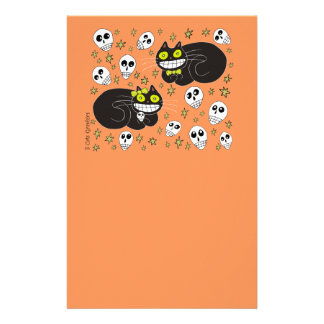 Ebbie and Elsie 2 Black Cats Stationery