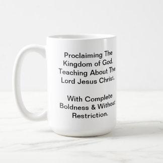 EBC coffee Basic White Mug