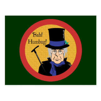 Ebenezer Scrooge Postcard