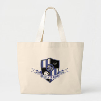 Eberly's Army Large Tote Bag