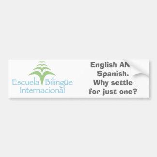EBI Bumper Sticker - why settle?