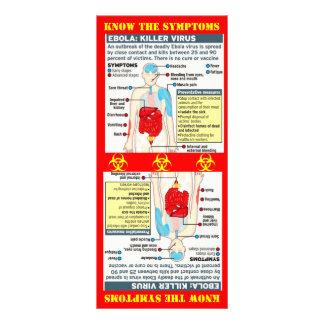 EBOLA: KILLER VIRUS CUSTOMIZED RACK CARD
