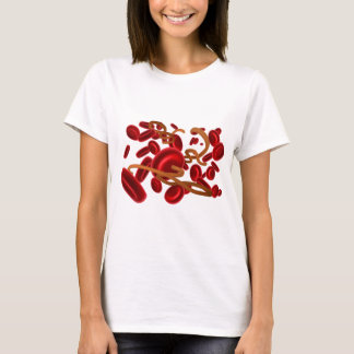 Ebola Virus and Red Blood Cells T-Shirt