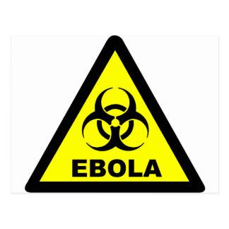 Ebola Warning Postcard