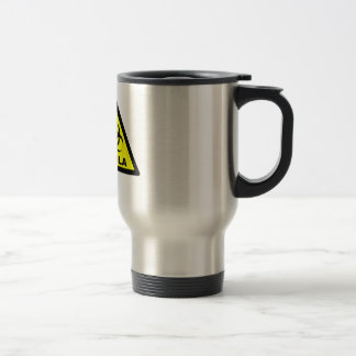 Ebola Warning Travel Mug