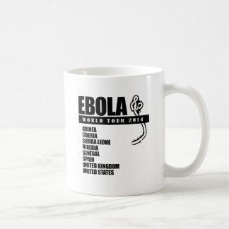 EBOLA WORLD TOUR 2014 BASIC WHITE MUG