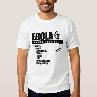 EBOLA WORLD TOUR 2014 -.png T Shirts