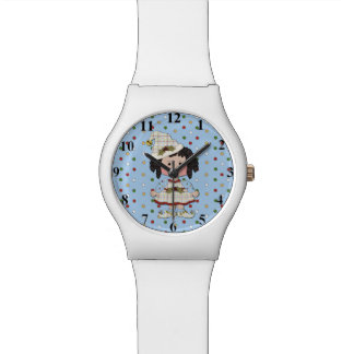 Ebony Chubby Elf Christmas Watch