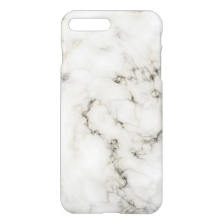 Ebony Ivory marble stone finish iPhone 7 Plus Case