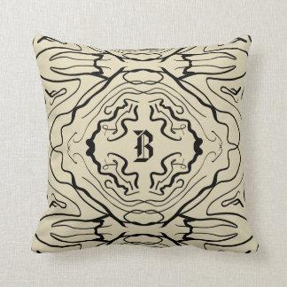 Ebony & Ivory Throw Pillow