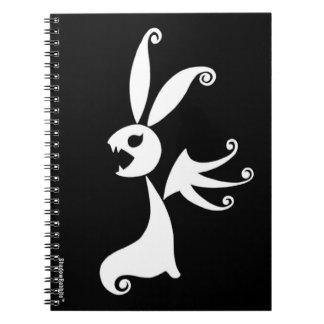 Ebony the Shadow Rabbit Notebooks