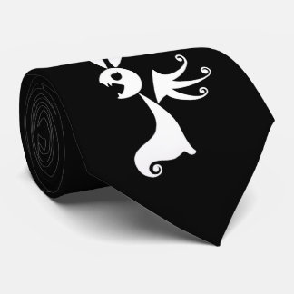 Ebony the Shadow Rabbit Tie