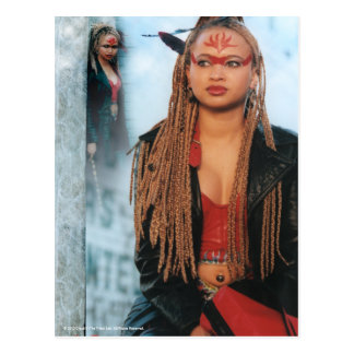 Ebony The Tribe Postcard