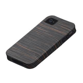 ebony wood grain Case-Mate iPhone 4 case
