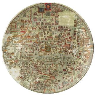 Ebstorf Map Plate
