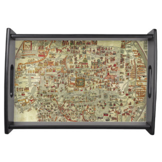 Ebstorf Map Serving Tray