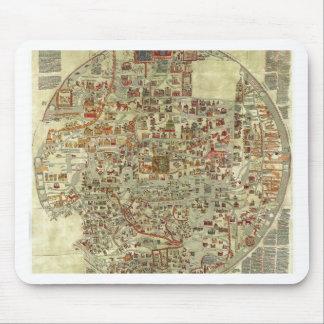 Ebstorfer Old World Map Mouse Pad