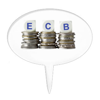 ECB - European Central Bank Cake Toppers