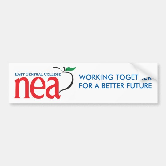 ECC NEA Bumper Sticker