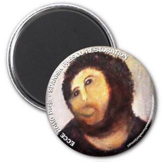 ECCE FRESH HOMO SPANISH 6 CM ROUND MAGNET