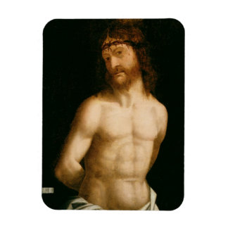 Ecce Homo, 1474 (panel) Rectangular Photo Magnet