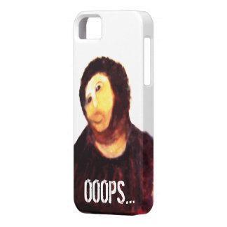 Ecce Homo iPhone5 case Botched Borja Painting OOPS