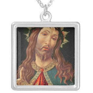 Ecce Homo, or The Redeemer, c.1474 Silver Plated Necklace