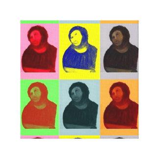 Ecce Homo - Pop Art Style Canvas Print