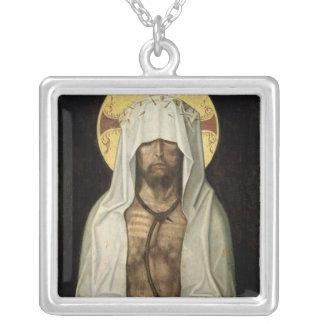 Ecce Homo Silver Plated Necklace