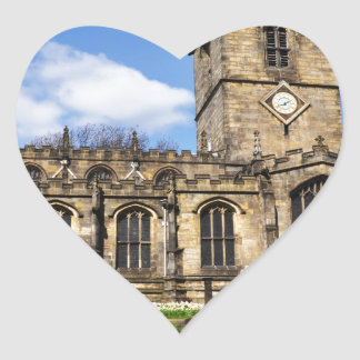 Eccles field church sheffield heart sticker