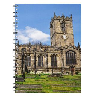 Eccles field church sheffield notebook