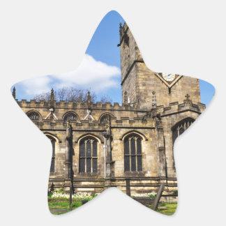 Eccles field church sheffield star sticker