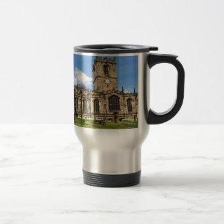 Eccles field church sheffield travel mug