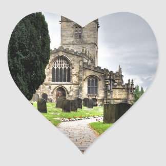 ecclesfield church heart sticker