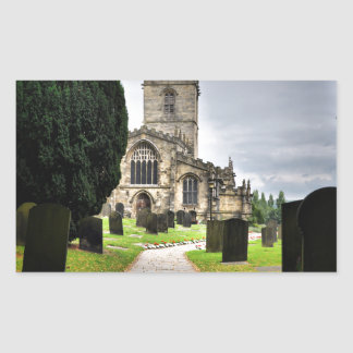 ecclesfield church rectangular sticker