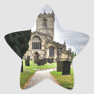 ecclesfield church star sticker