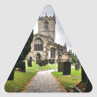 ecclesfield church triangle sticker