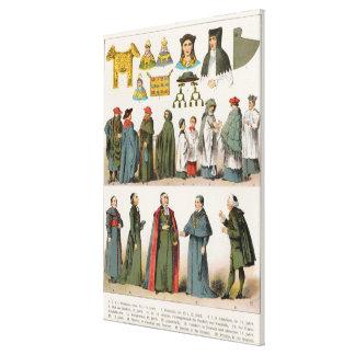 Ecclesiastical Dress Canvas Print