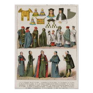 Ecclesiastical Dress Poster