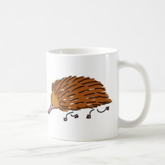 echidna coffee mug