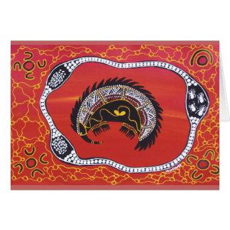 Echidna Dreaming Card