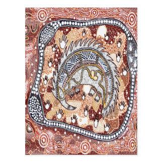 Echidna Dreaming Postcard