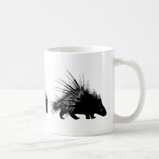 Echidna, hedgehog, porcupine mug