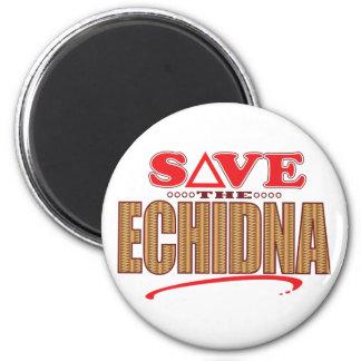Echidna Save 6 Cm Round Magnet
