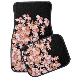 Echinacea Coneflower Flowers Garden Car Floor Mats