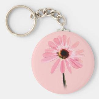Echinacea purpurea key chain