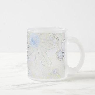 Echinacia Frosted Glass Mug