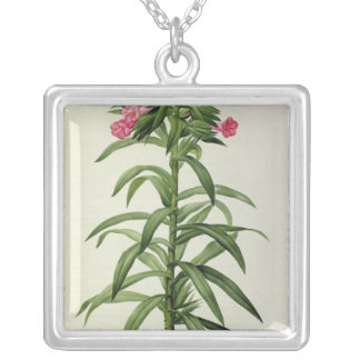 Echium Grandiflorum Silver Plated Necklace