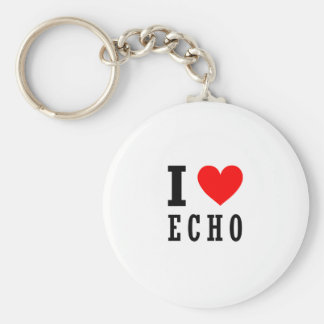 Echo, Alabama Key Ring