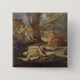 Echo and Narcissus 15 Cm Square Badge